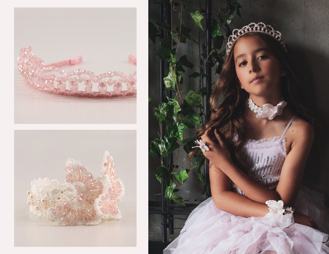 The Halo Designer Girls Tiara Headband