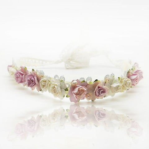 luxury flower girl garland