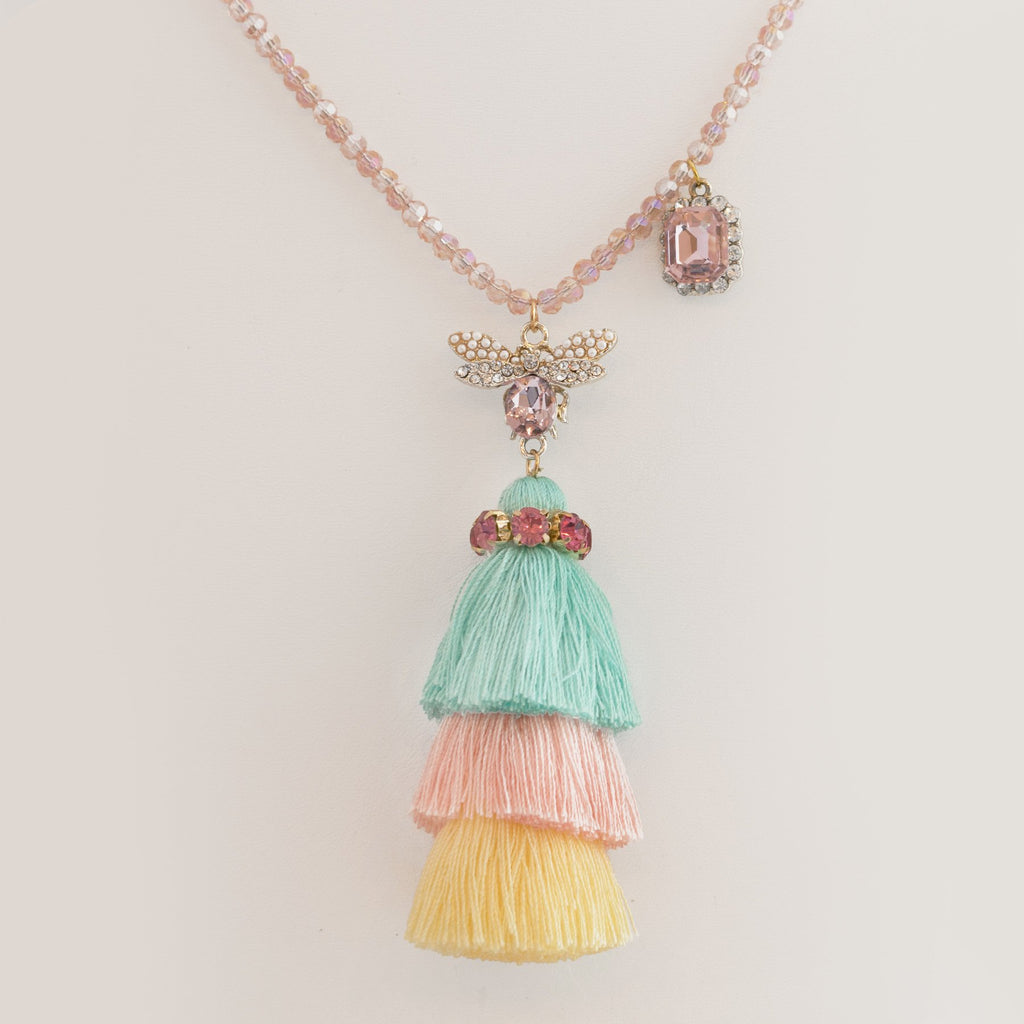 Girls Tassel Necklace