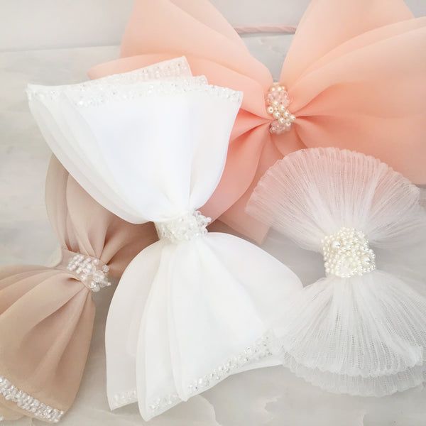 Girls Children Kids Flower Bridemaid Wedding Bow Princess Party Hair Clip Pin
