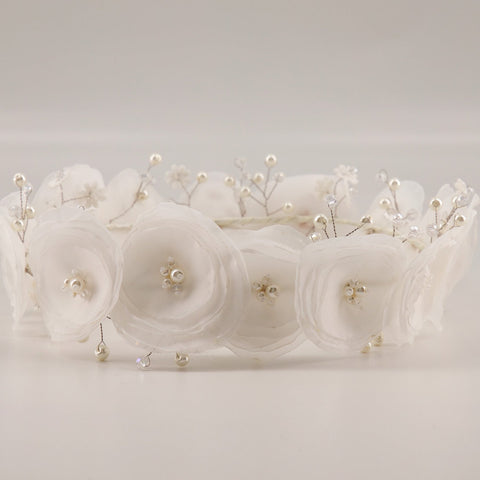 Designer Flower Crowns for flower girls and bridesmaids by Sienna Likes to Party