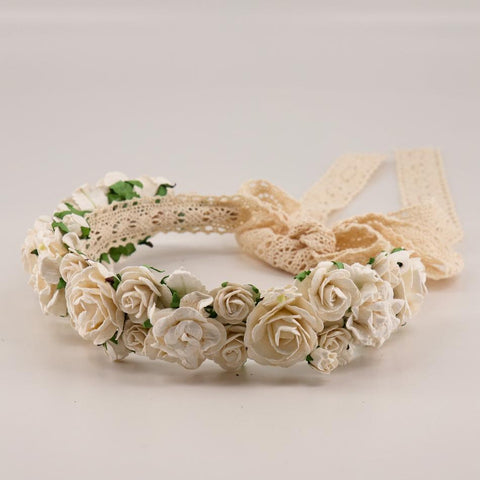 Designer Flower Girl and Bridesmaid  Flower Hair Garlands by Sienna Likes to Party Accessories