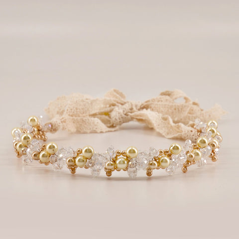 Pearl Bridal Hair Pieces for Bridesmaids or Flower Girls by Sienna Likes to Party Accessories