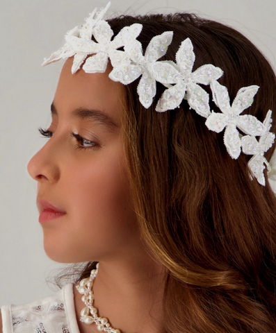 trendy hair garland for kids