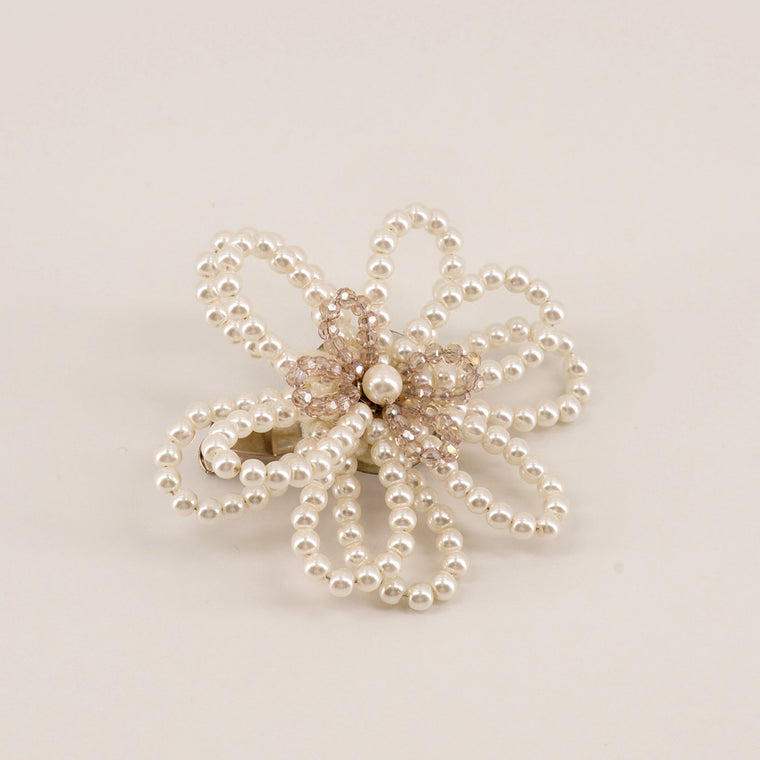 The Acacia Flower Hair Clip