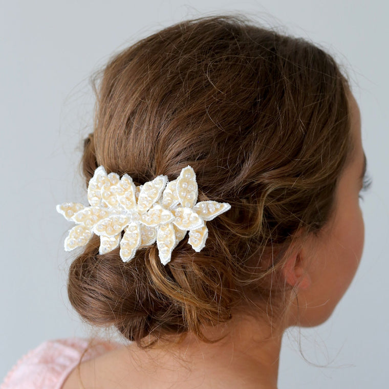The Autumn Flower Designer Girls Hair Clip