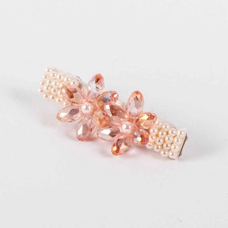The Cherry Blossom Crystal Hair Clip Hair Slide Sienna Likes To Party