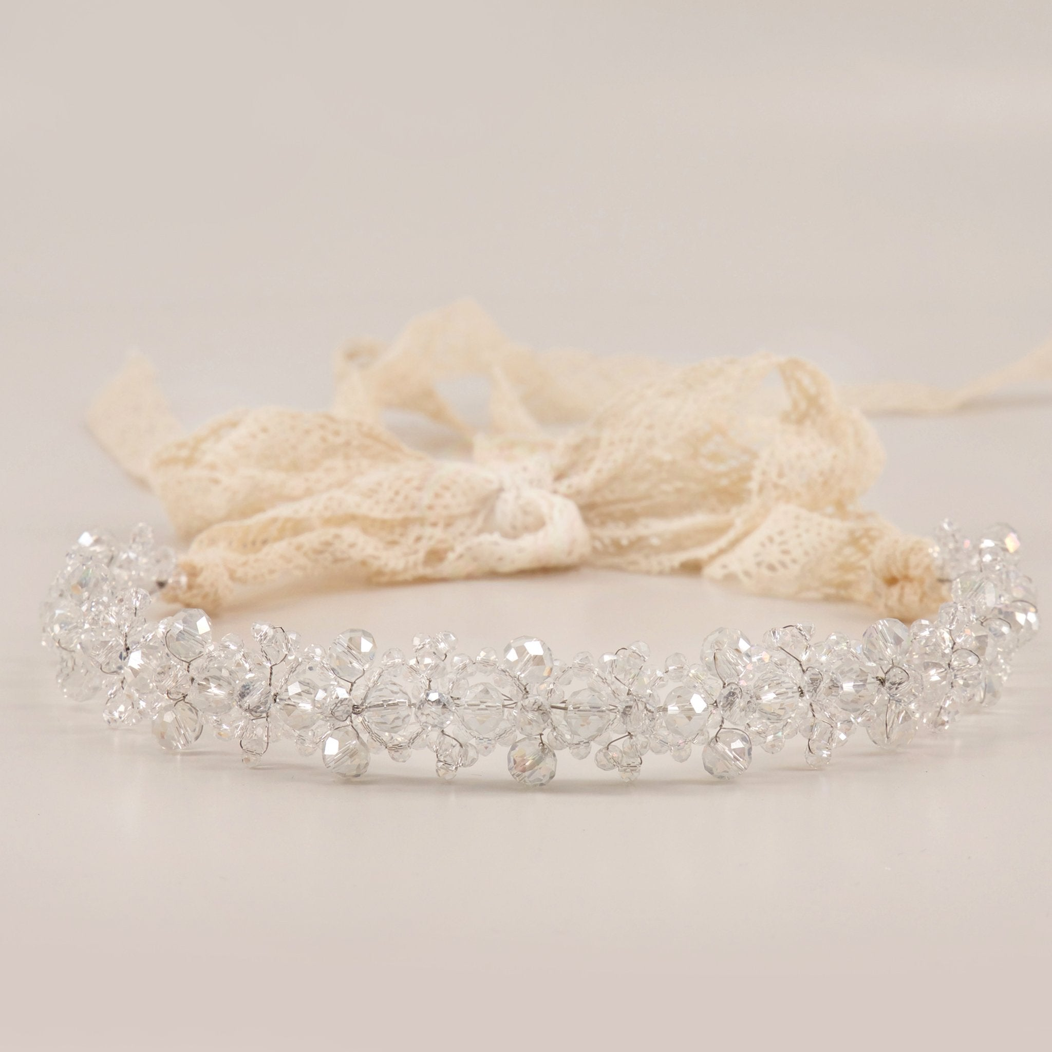 The Chiara Crystal Luxury Girls Hair Garland garland Sienna Likes To Party