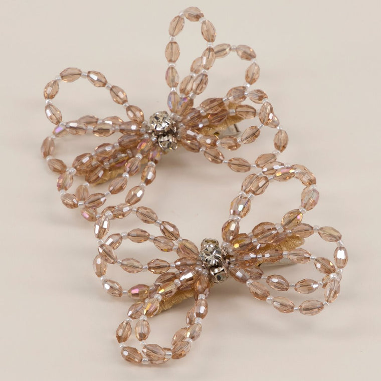 The Designer Darlene Crystal Bow Hair Clip Set Hair Clip Sienna Likes To Party