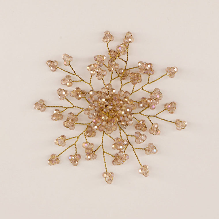 The Emmaline Crystal Flower Girls Hair Clip Hair Clip Sienna Likes To Party