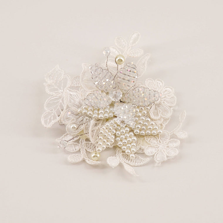 The Isadora Lace Girls Hair Clip Hair Clip Sienna Likes to Party