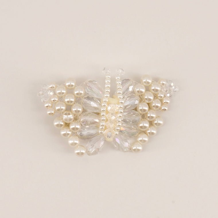 The Lady Annabella Pearl Butterfly Hair Clip Hair Clip Sienna Likes To Party