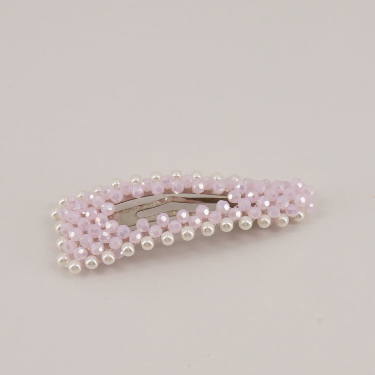 The Lady Jane Crystal & Pearl Designer Girls Barrette