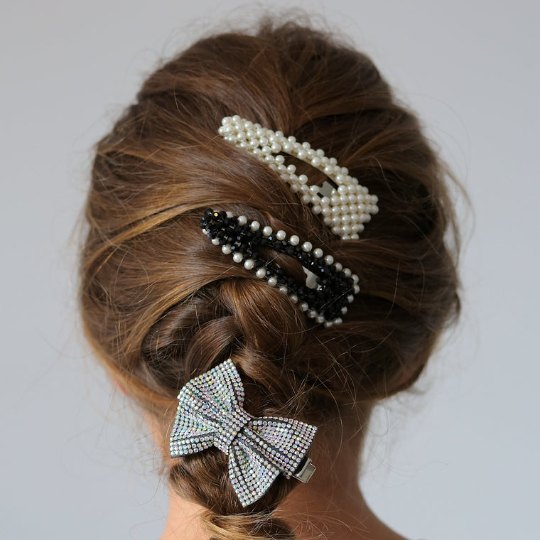 The Lady Jane Pearl Designer Girls Barrette