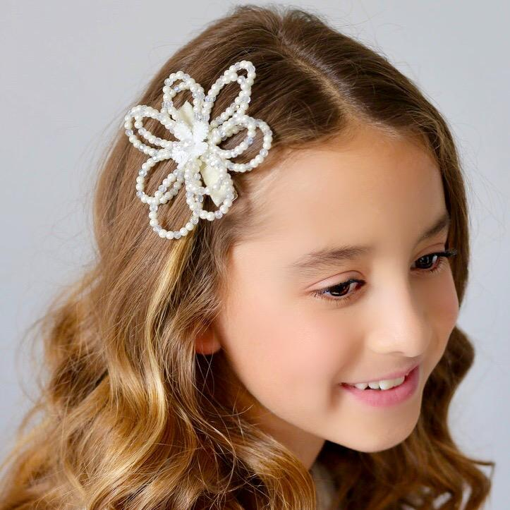The Little Fairy Petal Luxury Girls Hair Clip