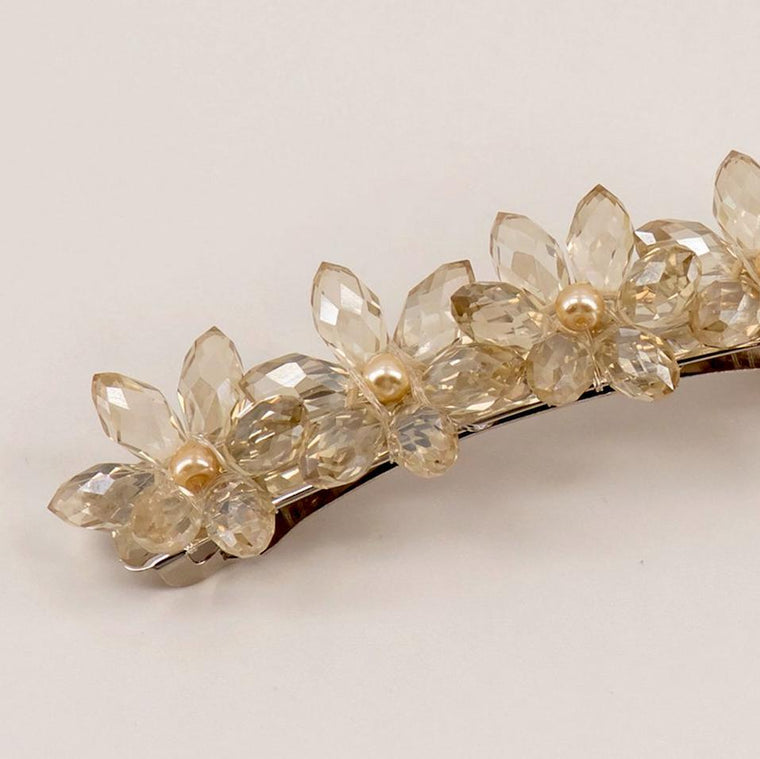 The Lyon Crystal Flower Designer Girls Hair Clip Hair Clip Sienna Likes To Party