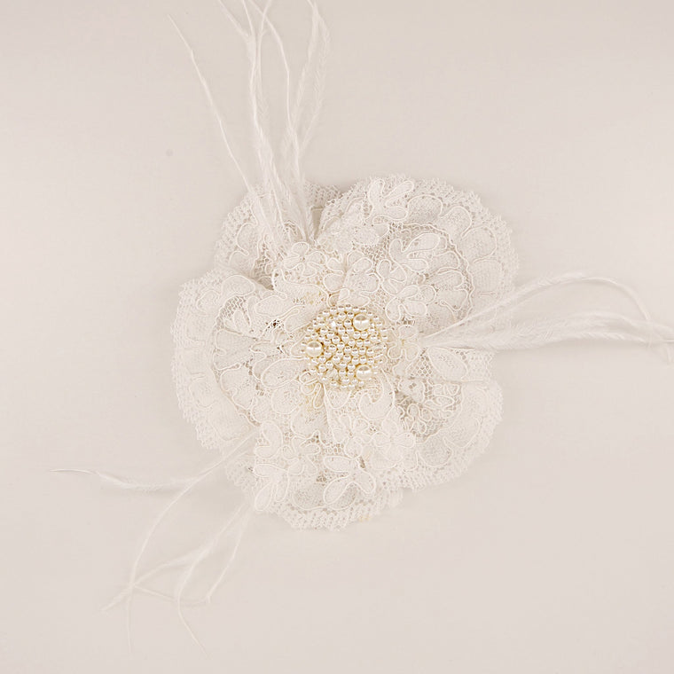 The Mademoiselle Celine Lace Girls Hair Clip