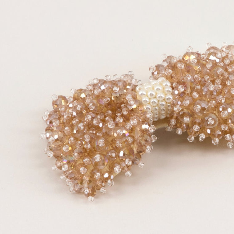The Maitea Crystal Bow Hair Clip Hair Clip Sienna Likes To Party