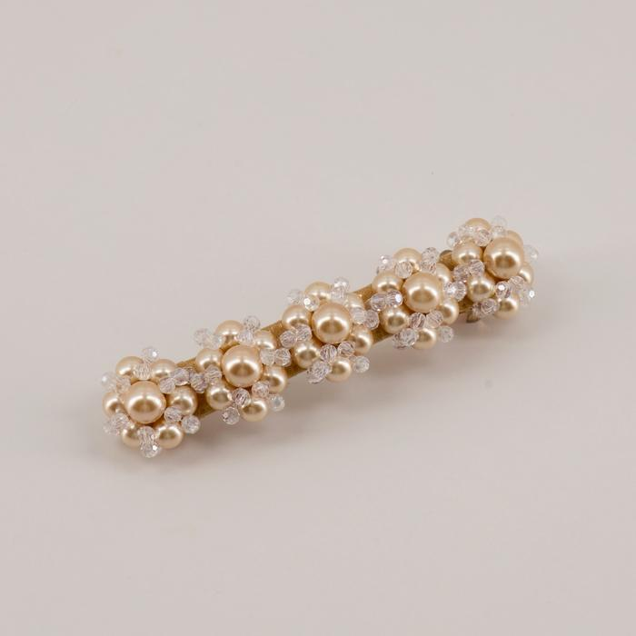 The Piper Crystal and Pearl Designer Girls Hair Clip Hair Clip Sienna Likes To Party