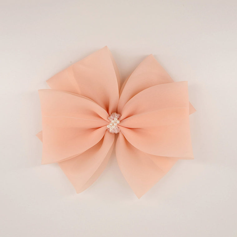 The Primrose Hill Organza Designer Bow Hair Clip