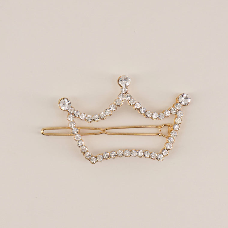The Queen Bey Crown Hair Clip