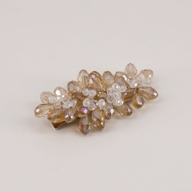 The Skylight Cluster Crystal Designer Girls Hair Clip