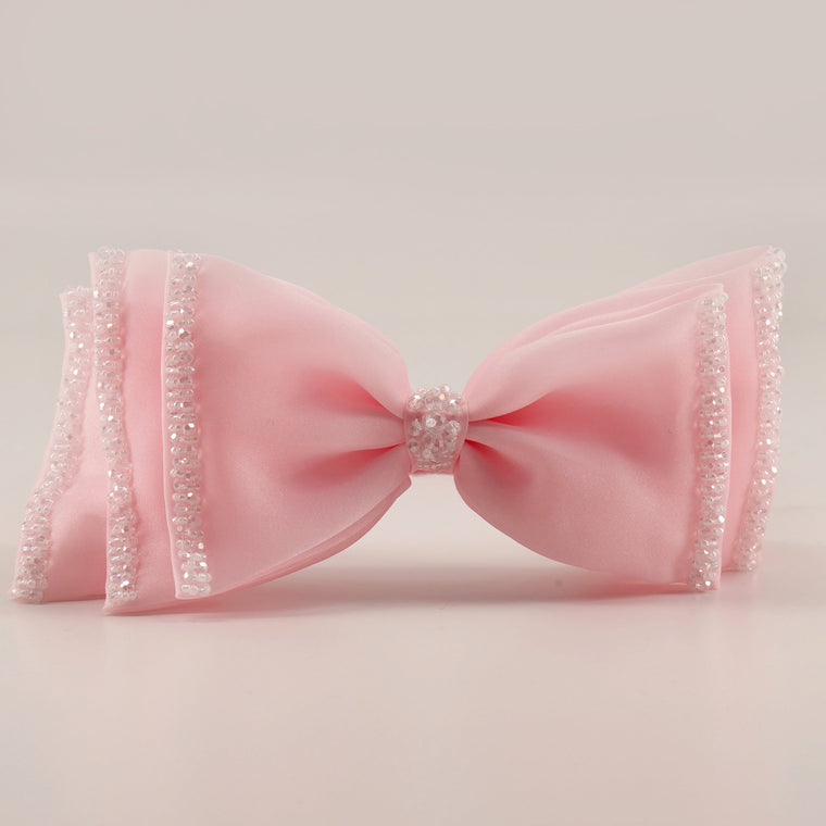 The Sugar Plum Bow Designer Girls Hair Clip