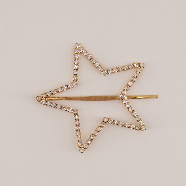 The Toni Diamante Star Hair Clip