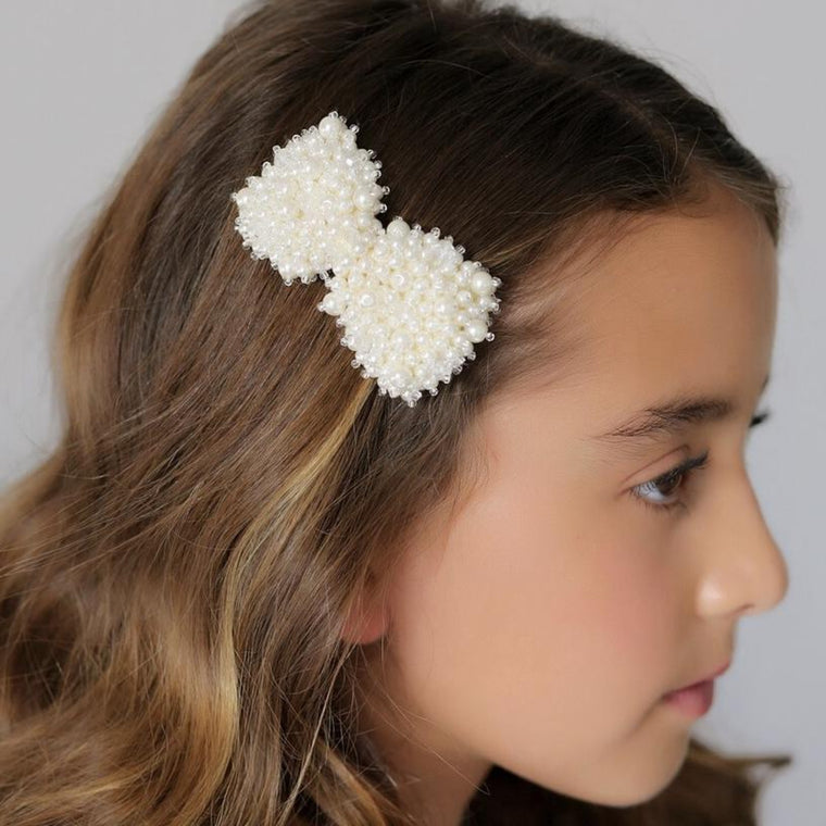 The Valentina Bow Designer Hair Clip