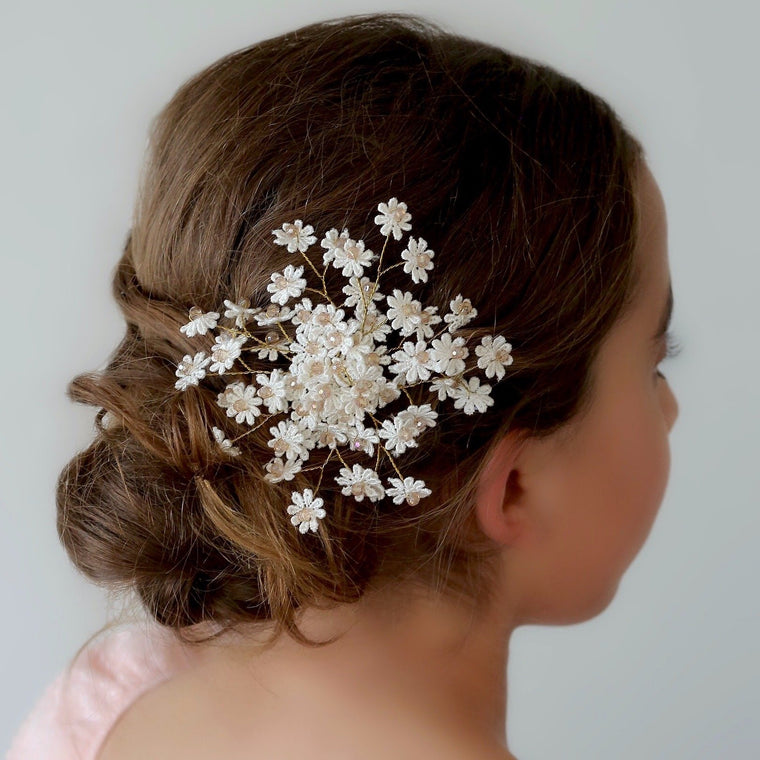 The Wanderlust Flower Designer Girls Hair Clip