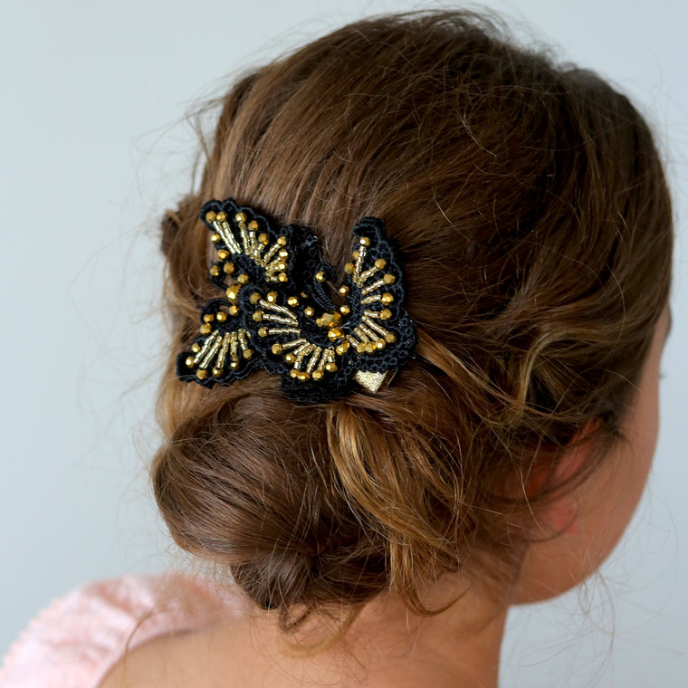 The Wings Of Love Designer Girls Hair Clip