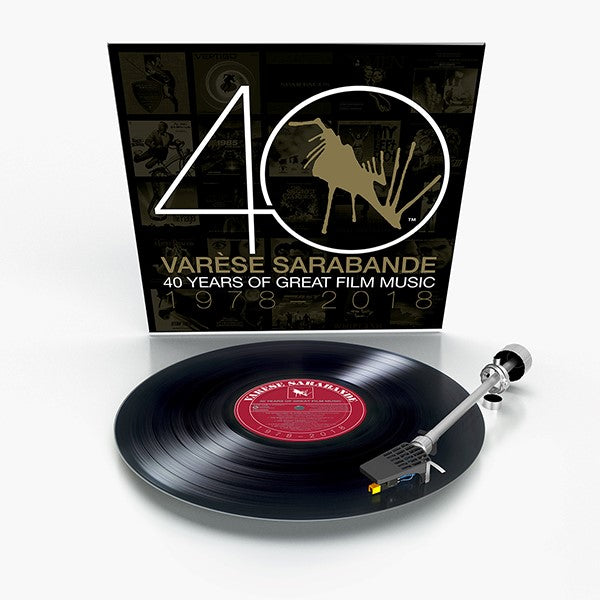 Varèse Sarabande: 40 Years of Great Film Music 1978-2018 (Vinyl)