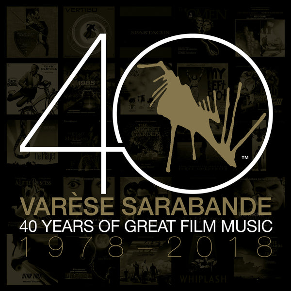 Varèse Sarabande: 40 Years of Great Film Music 1978-2018 (CD/Vinyl Bundle)