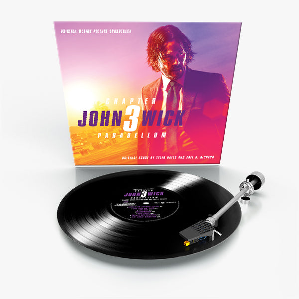 John Wick: Trilogy (3 LP Bundle Offer)