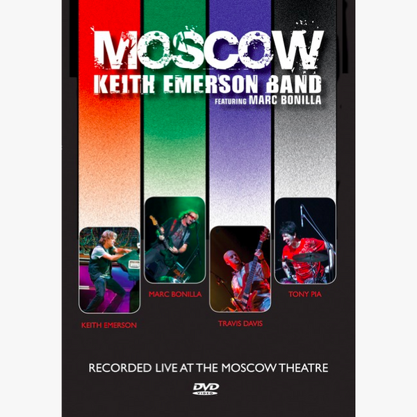 Keith Emerson Band: Moscow (DVD)