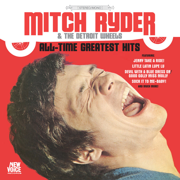Mitch Ryder Amp The Detroit Wheels All Time Greatest Hits