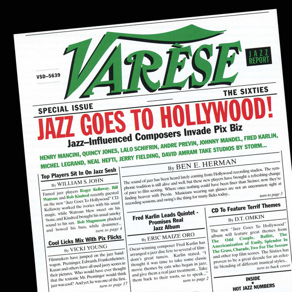 Karlin: Jazz Goes To Hollywood