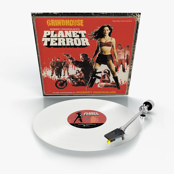Grindhouse: Planet Terror (Opaque White Vinyl)