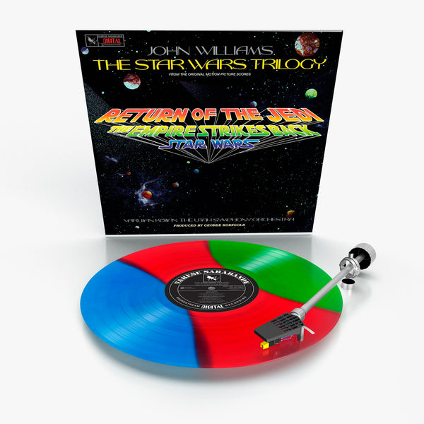 Star Wars Trilogy, The (Lightsaber Blue Red & Green Vinyl)