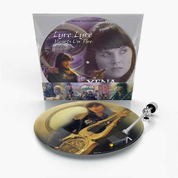 XENA WARRIOR PRINCESS: LYRE LYRE HEARTS ON FIRE (Picture Disc Vinyl)