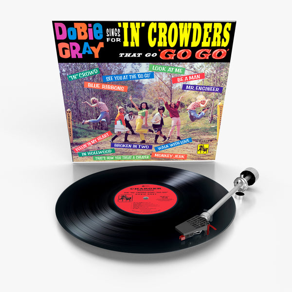 Dobie Gray Sings For 'In' Crowders That Go 'Go Go' (Vinyl)