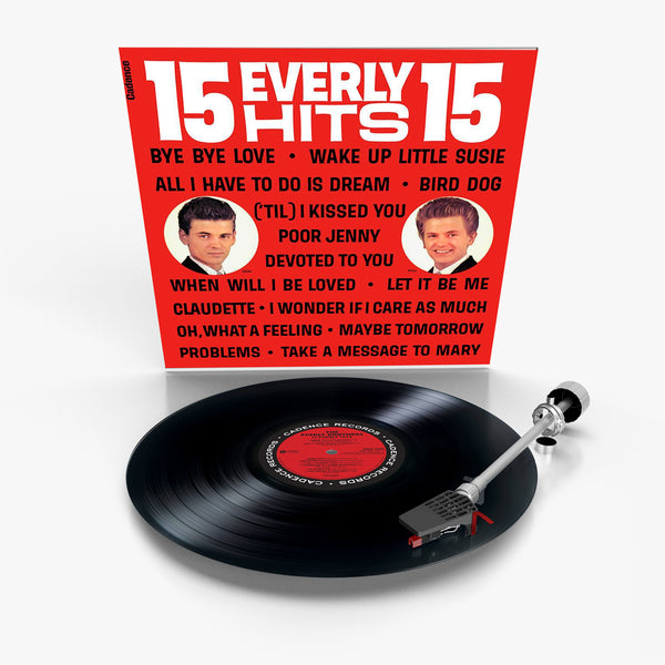 The Everly Brothers: 15 Everly Hits (Vinyl)