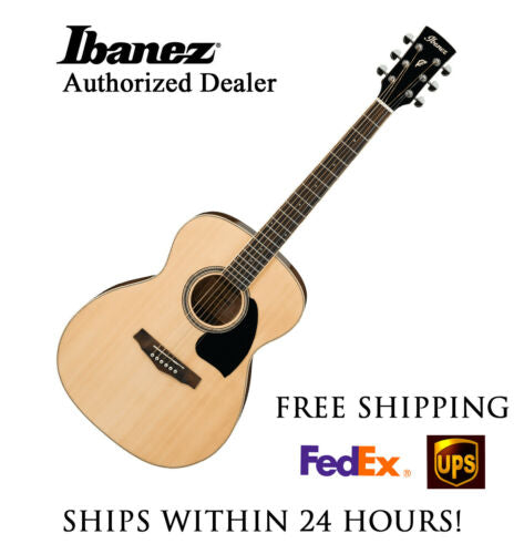 **IBANEZ PC15 ACOUSTIC NATURAL- FREE SHIPPING**