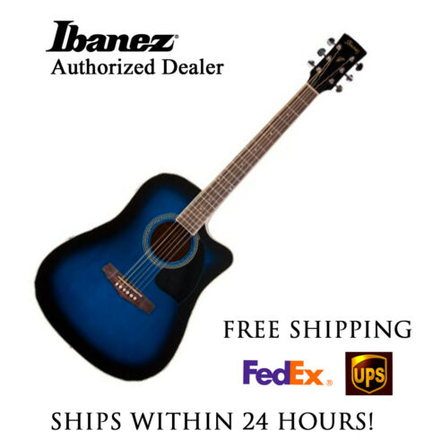 **IBANEZ PC15ECE ACOUSTIC BLUE - FREE SHIPPING**
