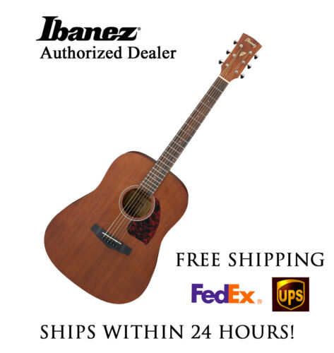 **IBANEZ PF12MH-OPN DREADNOUGHT ACOUSTIC GUITAR - FREE SHIPPING**