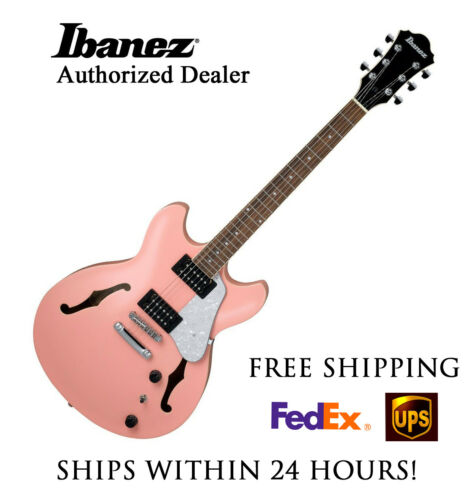 **IBANEZ AS63CRP SEMI-HOLLOW ELECTRIC GUITAR W/ FULL SETUP AND FREE SHIPPING!!**