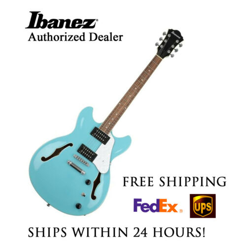 **IBANEZ AS63MTB SEMI-HOLLOW ELECTRIC GUITAR W/ FULL SETUP AND FREE SHIPPING!!**