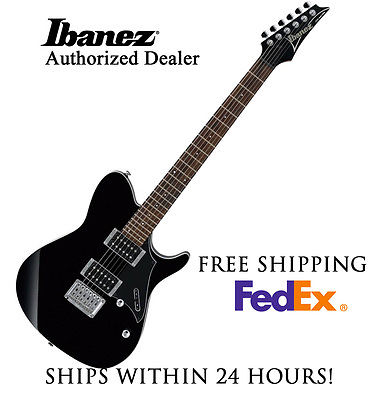 **IBANEZ FR320BK ELECTRIC GUITAR IN BLACK, FULL SET-UP AND FREE SHIPPING**