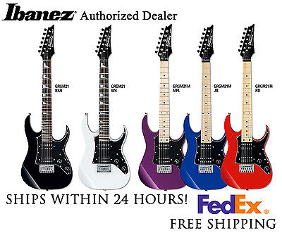 *IBANEZ GRGM21M MIKRO ELECTRIC GUITAR, INCLUDES FULL SETUP & FREE SHIPPING*