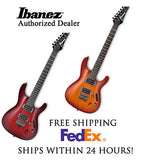 **IBANEZ S521 SERIES ELECTRIC GUITAR WITH SET-UP AND FREE SHIPPING LVS or BBS**